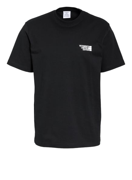 VETEMENTS T-Shirt, Farbe: SCHWARZ (Bild 1)