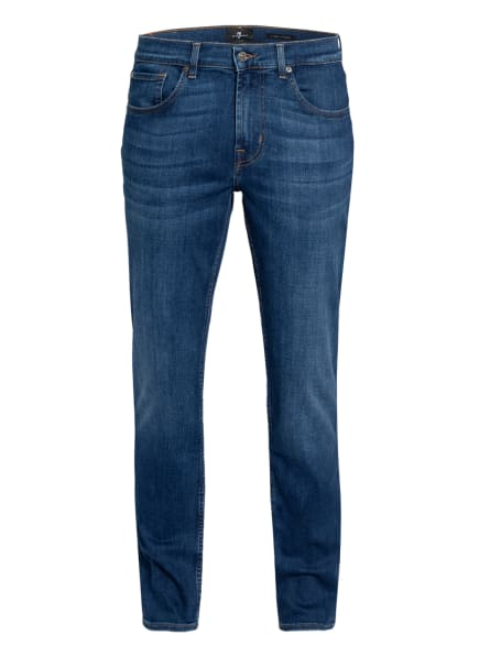 7 for all mankind Jeans SLIMMY Tapered Fit, Farbe: MID BLUE (Bild 1)