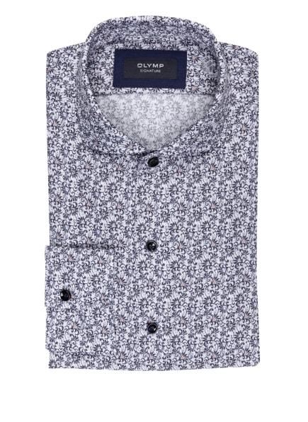 OLYMP SIGNATURE Hemd tailored fit, Farbe: WEISS/ BLAU/ HELLBLAU (Bild 1)