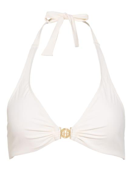 TORY BURCH Neckholder-Bikini-Top MILLER , Farbe: ECRU (Bild 1)