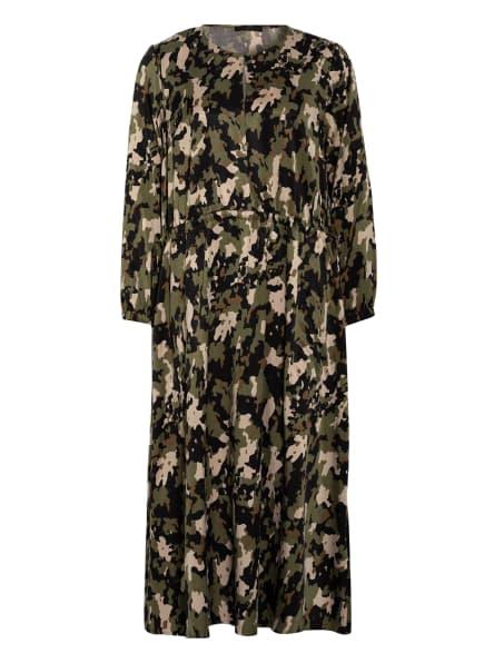 DRYKORN Kleid, Farbe: OLIV/ SCHWARZ/ BEIGE (Bild 1)