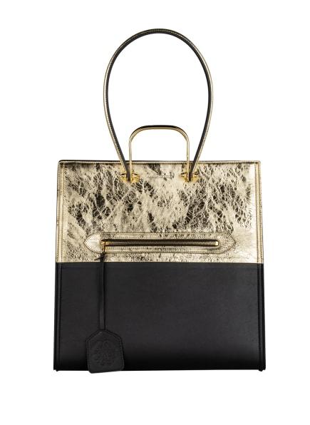Alexander McQUEEN Handtasche, Farbe: GOLD/ SCHWARZ (Bild 1)