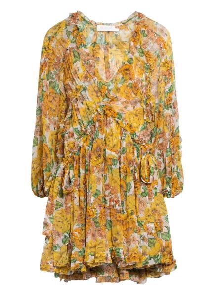 ZIMMERMANN Seidenkleid POPPY, Farbe: SFL SUnshine Floral (Bild 1)