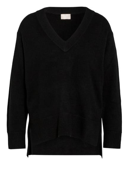 Mrs & HUGS Oversized-Pullover aus Cashmere, Farbe: SCHWARZ (Bild 1)