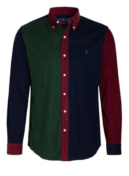 POLO RALPH LAUREN Hemd Slim Fit , Farbe: DUNKELBLAU/ DUNKELGRÜN/ DUNKELROT (Bild 1)