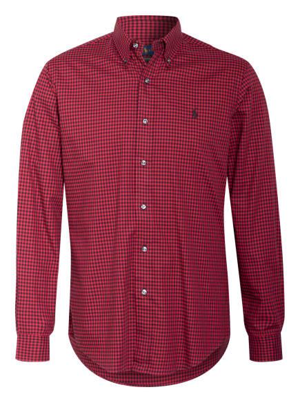 POLO RALPH LAUREN Hemd Custom Fit, Farbe: ROT/ SCHWARZ (Bild 1)