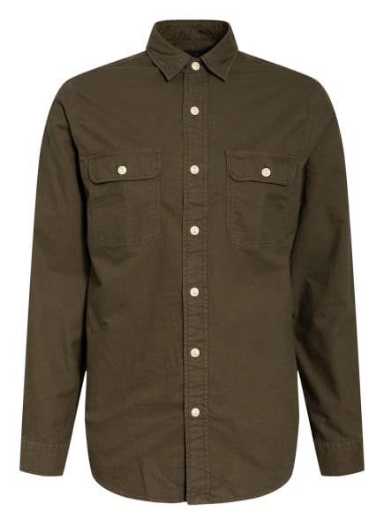 POLO RALPH LAUREN Hemd Custom Fit, Farbe: DUNKELGRÜN (Bild 1)