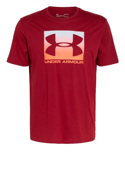 UNDER ARMOUR T-Shirt BOXED SPORTSTYLE, Farbe: DUNKELROT (Bild 1)