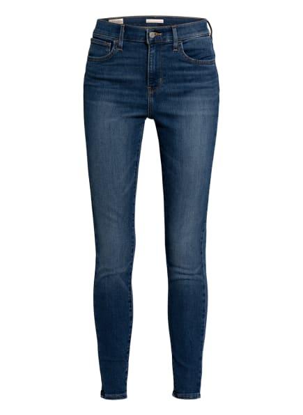 Levi's® Skinny Jeans 720 HIRISE SUPER SKINNY , Farbe: 06 Med Indigo - Worn In (Bild 1)