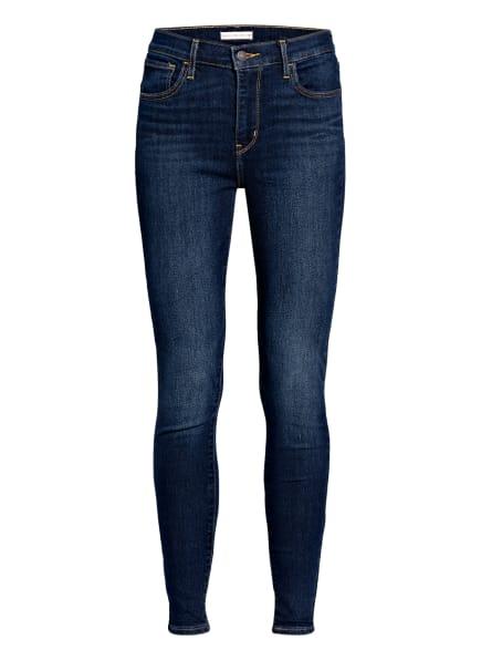 Levi's® Skinny Jeans 720 HIRISE SUPER SKINNY, Farbe: 91 Med Indigo - Worn In (Bild 1)