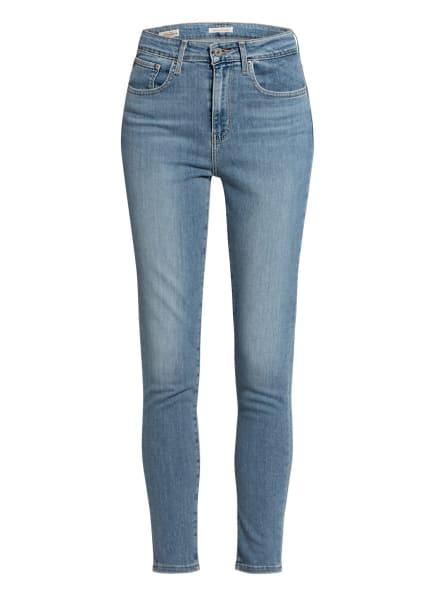 Levi's® Skinny Jeans 721 HIGH RISE SKINNY, Farbe: 32 Light Indigo - Worn In (Bild 1)