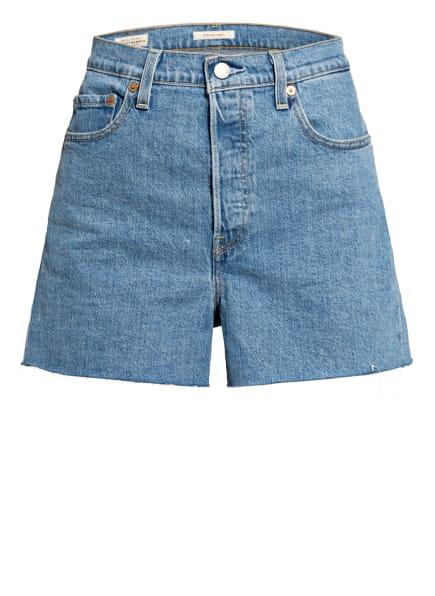 Levi's® Jeans-Shorts RIBCAGE, Farbe: 05 Light Indigo - Flat Finish (Bild 1)