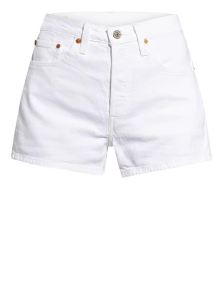 Levi's® Jeans-Shorts 501® ORIGINAL, Farbe: WEISS (Bild 1)