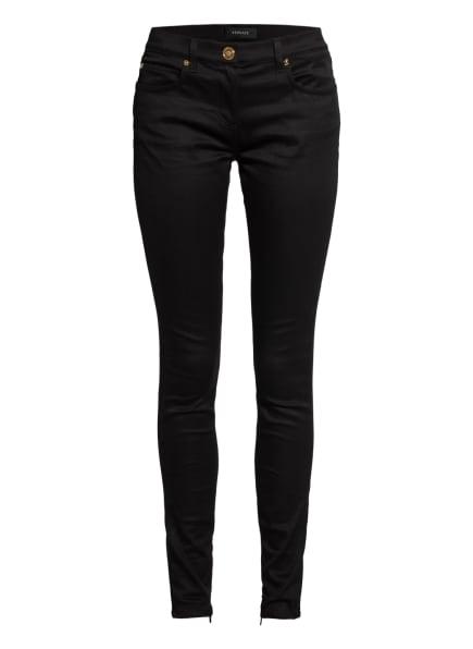 VERSACE Skinny Jeans, Farbe: SCHWARZ (Bild 1)
