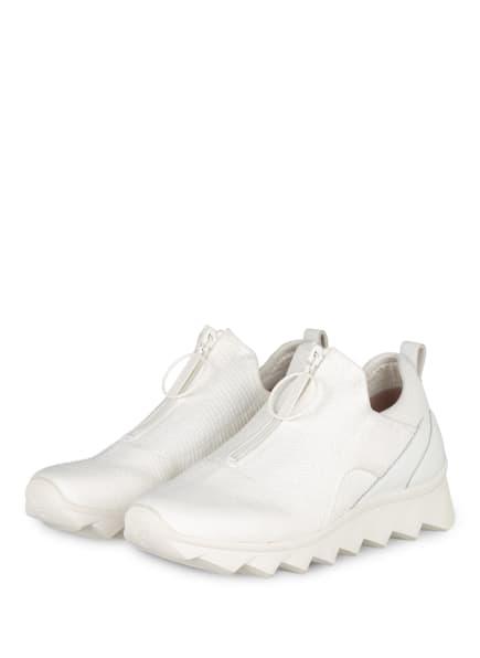 MARC CAIN Plateau-Sneaker, Farbe: 100 WHITE (Bild 1)