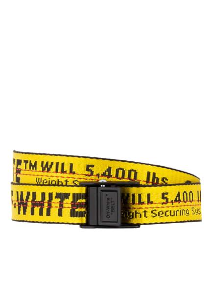Off-White Gürtel, Farbe: GELB/ SCHWARZ (Bild 1)