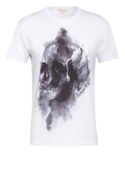 Alexander McQUEEN T-Shirt, Farbe: WEISS/ DUNKELGRAU (Bild 1)
