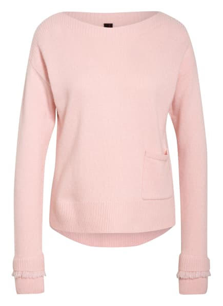 MARC CAIN Pullover mit Cashmere , Farbe: 213 candy pink (Bild 1)