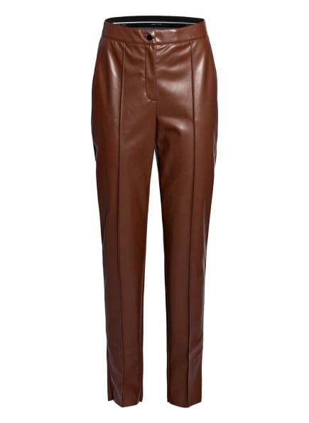 MARC CAIN Hose in Lederoptik, Farbe: 635 conker (Bild 1)