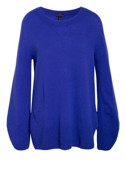 MARC CAIN Pullover mit Cashmere, Farbe: 365 atlantic blue (Bild 1)