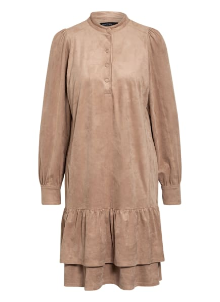 MARC CAIN Kleid in Lederoptik, Farbe: 627 Kangaroo (Bild 1)