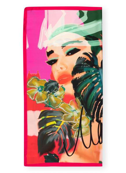 MARC CAIN Seidentuch, Farbe: 433 corn (Bild 1)