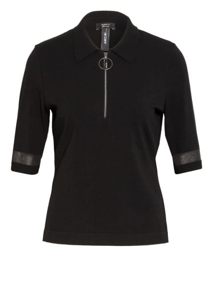 MARC CAIN Strick-Poloshirt , Farbe: 900 BLACK (Bild 1)