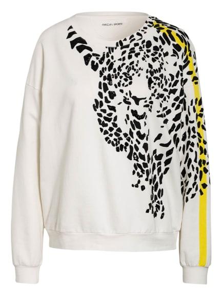 MARC CAIN Sweatshirt mit Paillettenbesatz, Farbe: 110 off (Bild 1)