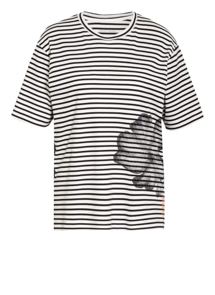 MARC CAIN T-Shirt , Farbe: 195 white and navy (Bild 1)