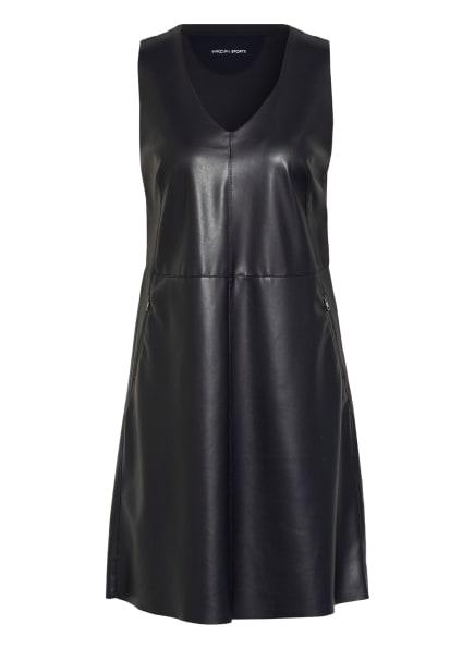 MARC CAIN Kleid im Materialmix , Farbe: 395 MIDNIGHT BLUE (Bild 1)