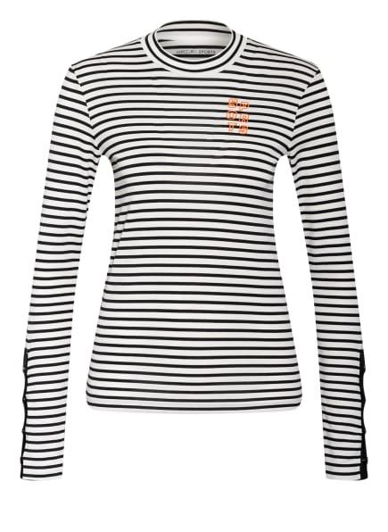 MARC CAIN Longsleeve , Farbe: 195 white and navy (Bild 1)