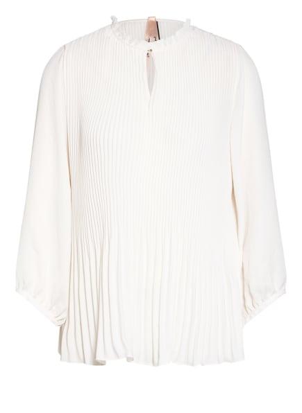 MARC CAIN Plissee-Blusenshirt, Farbe: 110 off (Bild 1)