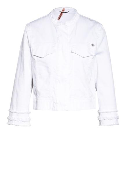 MARC CAIN Jeansjacke mit 3/4-Arm , Farbe: 100 WHITE (Bild 1)