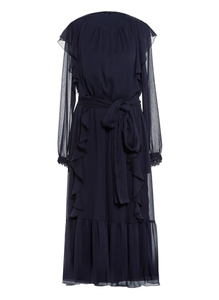 LUISA CERANO Kleid, Farbe: DUNKELBLAU (Bild 1)