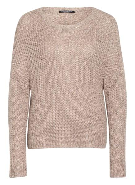 LUISA CERANO Pullover, Farbe: ROSÉ/ GOLD/ SILBER (Bild 1)