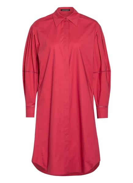 LUISA CERANO Hemdblusenkleid mit Lochspitze, Farbe: PINK (Bild 1)