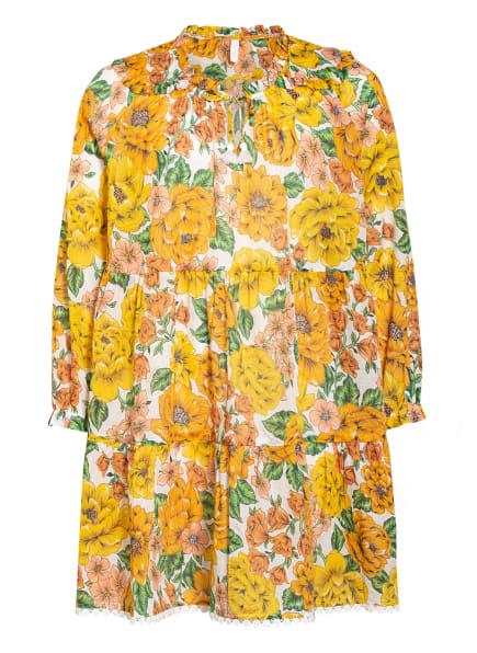 ZIMMERMANN Kleid, Farbe: GELB/ GRÜN/ NUDE (Bild 1)