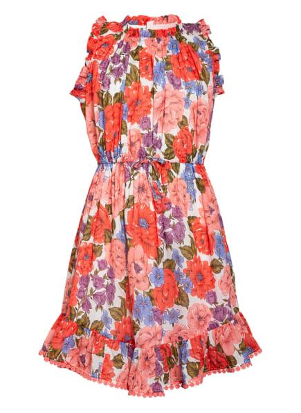 ZIMMERMANN Kleid , Farbe: HELLROT/ HELLLILA/ OLIV (Bild 1)