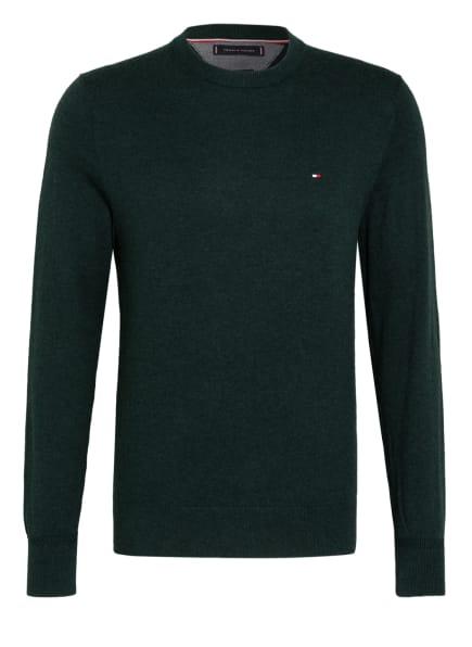 TOMMY HILFIGER Pullover, Farbe: DUNKELGRÜN/ GRÜN/ BLAU (Bild 1)