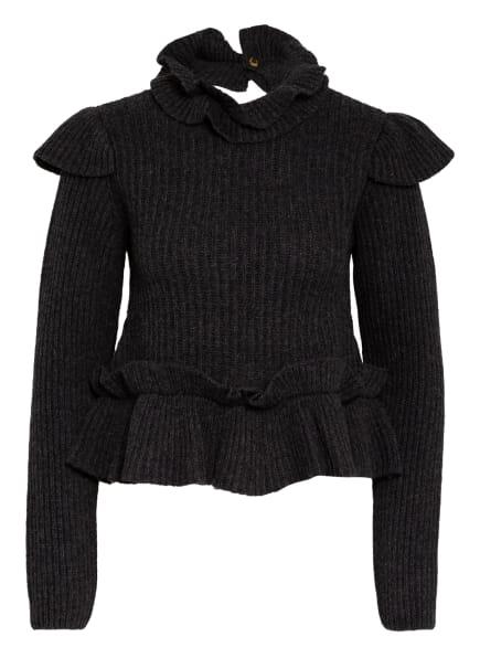 GANNI Pullover, Farbe: DUNKELGRAU (Bild 1)