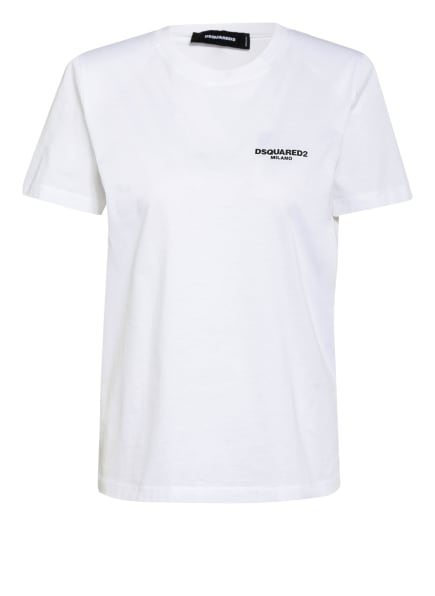 DSQUARED2 T-Shirt MILANO, Farbe: WEISS (Bild 1)