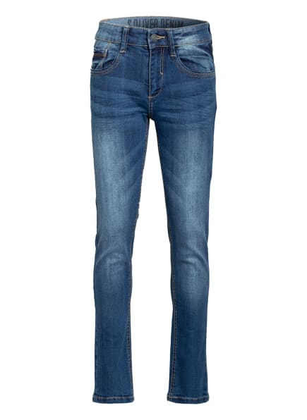 s.Oliver RED Jeans Slim Fit, Farbe: BLAU (Bild 1)