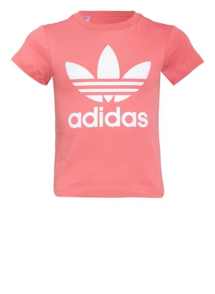 adidas Originals T-Shirt TREFOIL, Farbe: HELLROT (Bild 1)