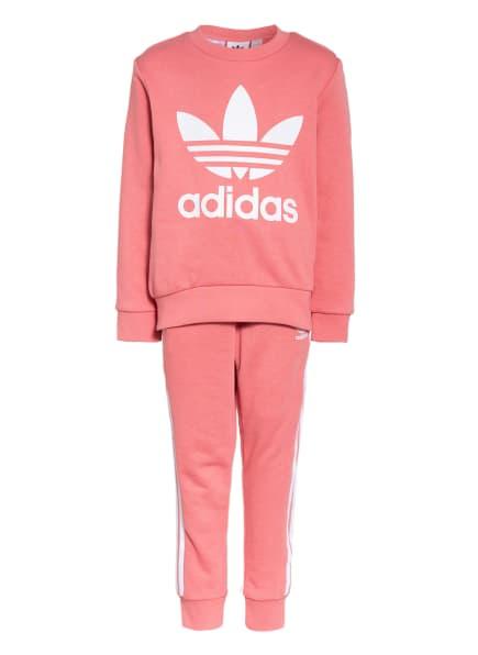 adidas Originals Set: Sweatshirt und Sweatpants, Farbe: ROSA (Bild 1)