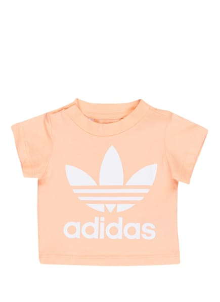 adidas Originals T-Shirt TREFOIL , Farbe: NUDE/ WEISS (Bild 1)