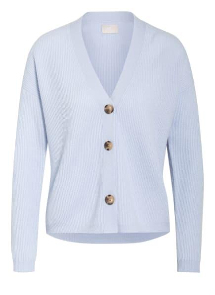 Mrs & HUGS Strickjacke aus Cashmere, Farbe: HELLBLAU (Bild 1)
