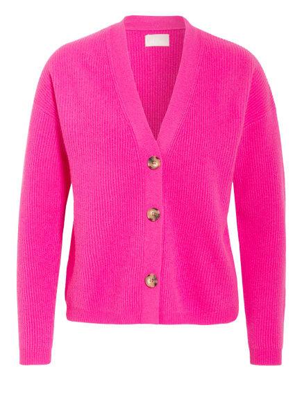 Mrs & HUGS Strickjacke aus Cashmere, Farbe: PINK (Bild 1)