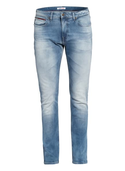 TOMMY JEANS Jeans SCANTON Slim Fit, Farbe: 1AB Wilson Light Blue Stretch (Bild 1)