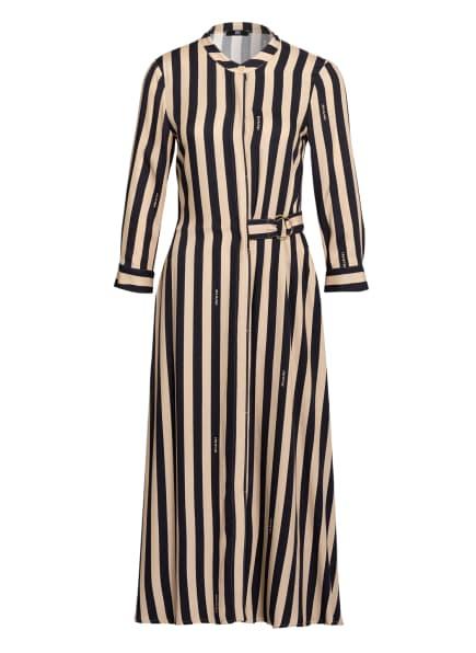 RIANI Hemdblusenkleid, Farbe: DUNKELBLAU/ CREME (Bild 1)
