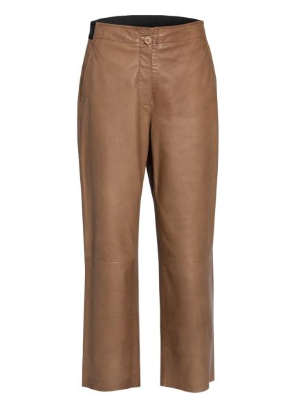 RIANI Leder-Culotte, Farbe: CAMEL (Bild 1)